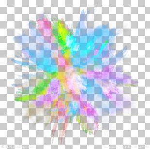 Dust Explosion Color PNG