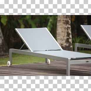 Table Sunlounger Chaise Longue Wood PNG