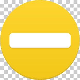Angle Area Symbol Yellow PNG