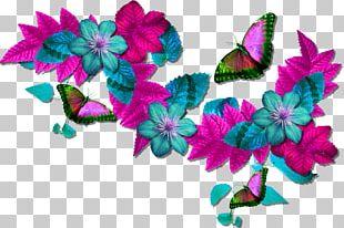 Flower Butterflies And Moths Digital PNG