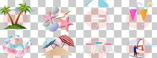 Beach Adobe Illustrator Icon PNG