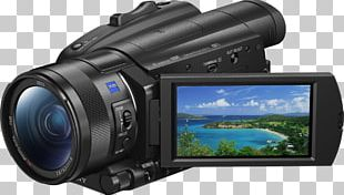 Sony FDR-AX700 4K Camcorder High-dynamic-range Imaging Sony Camcorders Handycam PNG