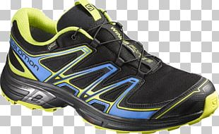 Gore-Tex Salomon Group Trail Running Shoe PNG