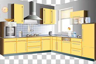 Kitchen Cabinet Furniture Living Room PNG