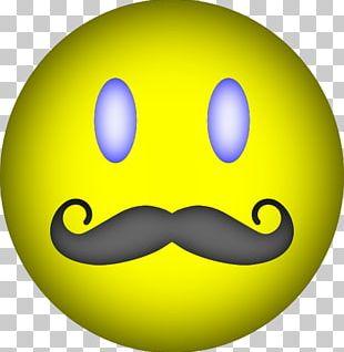 Smiley Desktop Moustache PNG