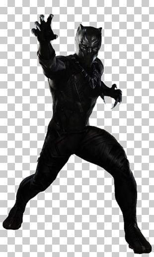 Black Panther Superhero Movie Film PNG
