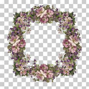 Floral Design Wreath PNG