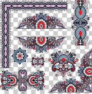 Floral Design Drawing PNG