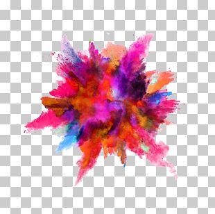 Color Powder Explosion Dust Stock Photography PNG