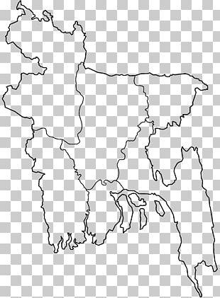 Districts Of Bangladesh Blank Map Division Of Bangladesh PNG