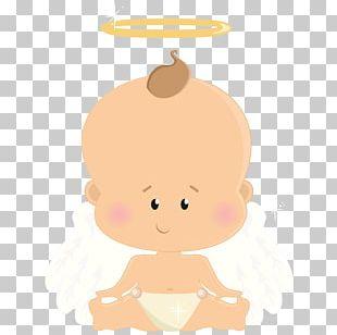 Child Angel Baptism PNG