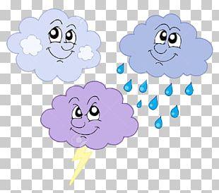 Cloud Rain Storm PNG