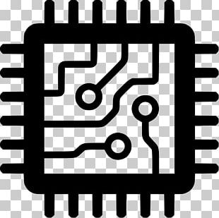 Integrated Circuits & Chips Central Processing Unit Computer Icons Computer Hardware PNG