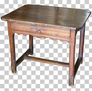 Table Wood Stain Desk Antique PNG