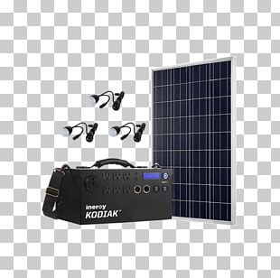 Solar Power Electric Generator Off-the-grid Power Station Electrical Grid PNG