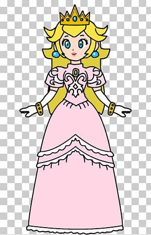 Princess Peach Rosalina Drawing PNG
