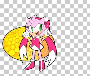 Sonic Mania Amy Rose Video Game Surfing In The Clouds Roblox PNG