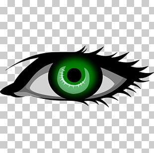 Eye Color Green PNG