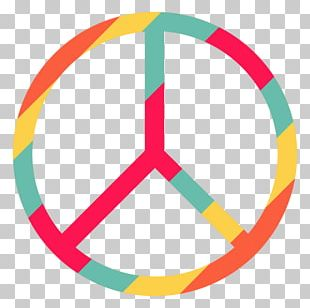 Hippie Element Peace Symbols PNG