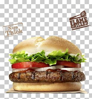 Angus Cattle Hamburger Burger King Premium Burgers Whopper Cheeseburger PNG