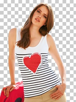 Julia Saner T-shirt Model Clothing Photo Shoot PNG
