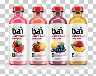 Fizzy Drinks Bai Brands Lemonade Carbonated Water Juice PNG