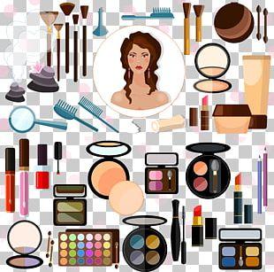 Cosmetics Make-up Artist Illustration PNG