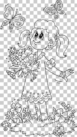 Coloring Book Child Drawing Adult Page PNG