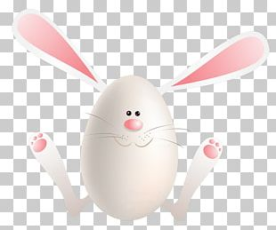 Easter Bunny Rabbit Easter Egg Nose Whiskers PNG