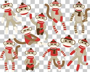 Sock Monkey PNG