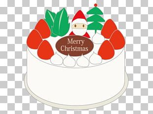 Christmas Cake Santa Claus PNG
