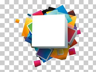 Color Cube Square PNG