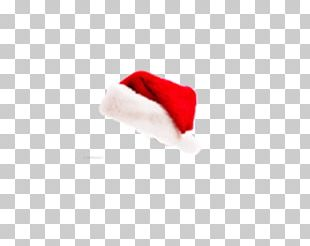 Santa Claus Christmas Hat Red PNG