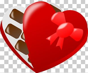 White Chocolate Valentine's Day Heart Candy PNG