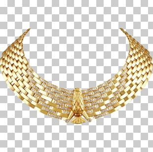 Earring Necklace Jewellery Charms & Pendants Gold PNG