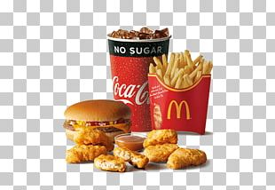 McDonald's Chicken McNuggets Chicken Nugget McDonald's Big Mac French Fries PNG