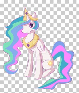 Princess Celestia Pony Drawing Fan Art PNG