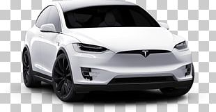 Tesla Model 3 White Front View PNG