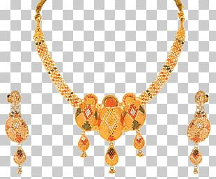 Orra Jewellery Necklace Gold Earring PNG