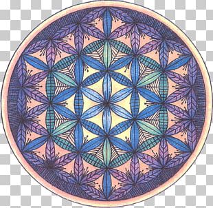 Overlapping Circles Grid Sacred Geometry Shape YouTube PNG