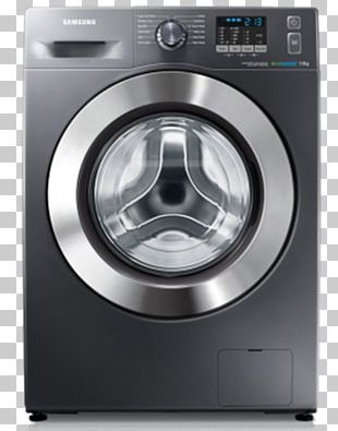 Washing Machine Samsung Home Appliance Laundry PNG