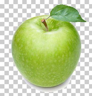 Granny Smith Manzana Verde Apple Fruit PNG