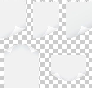 Paper Black And White Pattern PNG