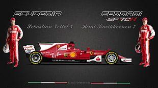 2017 FIA Formula One World Championship Ferrari SF70H Car Auto Racing PNG