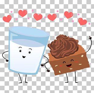 Chocolate Brownie T-shirt Fudge S'more Milk PNG