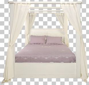 Bed Frame Bedroom Four-poster Bed Furniture PNG