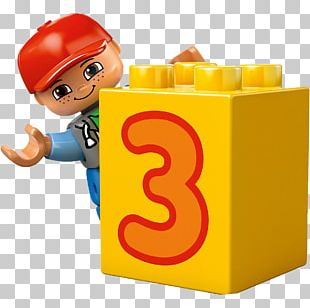 Train Lego Duplo Toy Block Number PNG