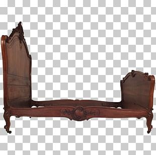 Couch Chair Bed Furniture Rococo Revival PNG