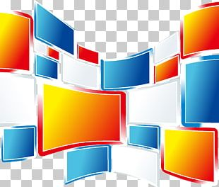 Square Wave Graphic Design PNG