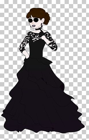 Costume Design Gown Design M Group Black M PNG